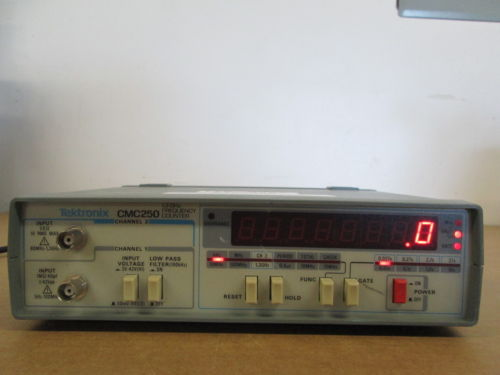 TEKTRONIX CMC250 FREQ. COUNTER,